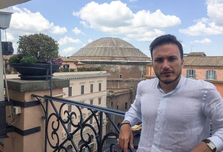 Umberto La Morgia, consigliere comunale a Casalecchio di Reno (provincia di Bologna) - FdI