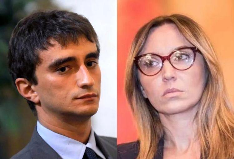 Deputati di Fratelli d'Italia Galeazzo Bignami e Ylenja Lucaselli