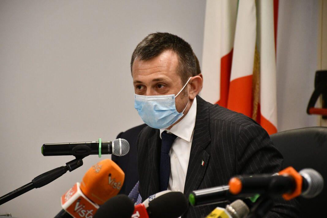 Andrea Delmastro, deputato di Fratelli d'Italia e capogruppo FDI in Commissione Esteri.