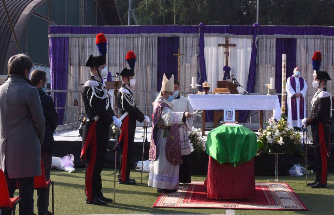 L'Arcivescovo Delpini ha presieduto il funerale dell'ambasciatore italiano Luca Attanasio, ucciso in Congo. Foto dell'archivio Chiesa di Milano.