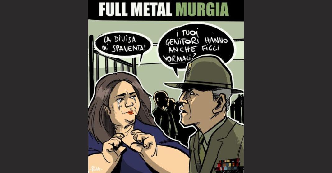 La vignetta satirica di Pubble