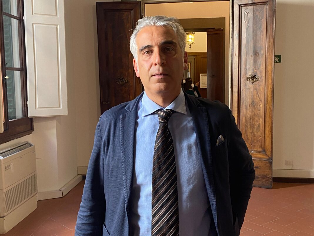 Diego Petrucci, consigliere regionale di Fratelli d'Italia.