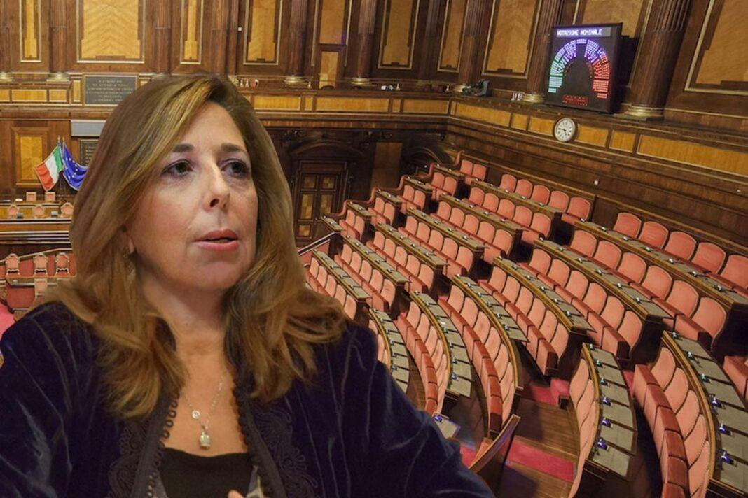 Isabella Rauti, senatrice di Fratelli d'Italia.