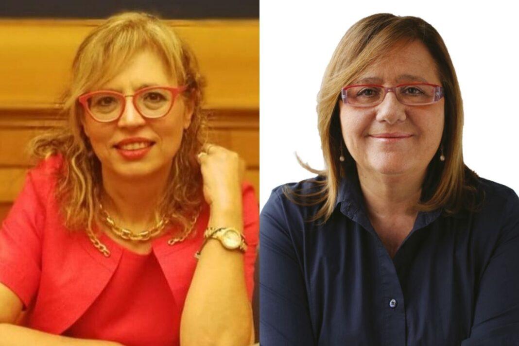 Carmela Ella Bucalo e Paola Frassinetti, deputati di Fratelli d'Italia, rispettivamente responsabile scuola del dipartimento istruzione di FdI e vicepresidente commissione Cultura.