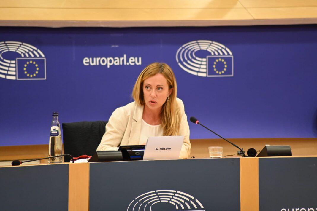 Il presidente di Fratelli d'Italia e di ECR Party, Giorgia Meloni, a Bruxelles per incontri politici e istituzionali.