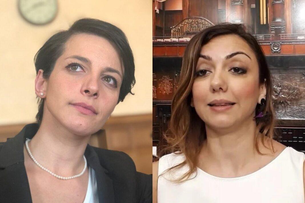 Rachele Silvestri e Augusta Montaruli, deputati di Fratelli d'Italia.