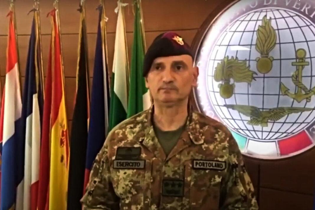 Generale di corpo d'armata Luciano Portolano, neo segretario generale della Difesa e direttore nazionale degli armamenti