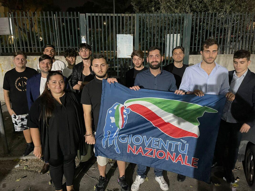 Fabio Roscani, Presidente Nazionale di Gioventù Nazionale in visita alla Comunità militante napoletana e casertana.