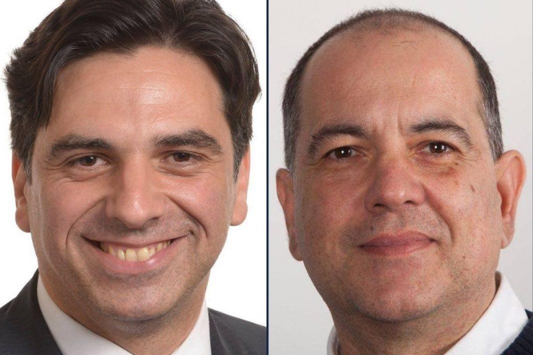 Salvo Pogliese e Giampiero Cannella, coordinatori per la Sicilia orientale e occidentale di Fratelli d'Italia.