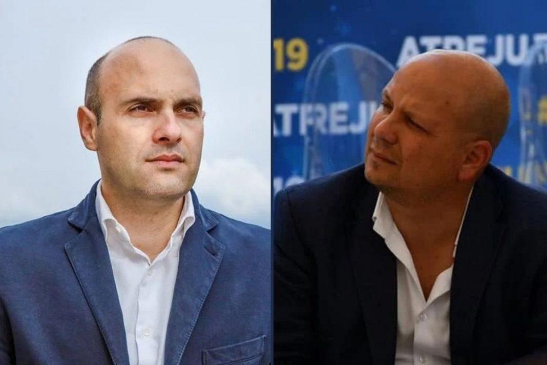 Emanuele Prisco e Salvatore Deidda, deputati di Fratelli d'Italia.