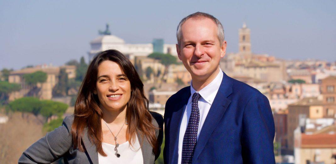 Francesca Barbato e Giovanni Quarzo, neo consiglieri comunali di Fratelli d'Italia.