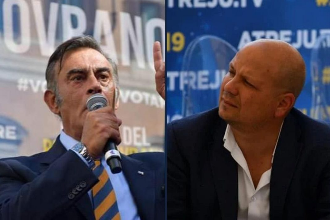 Marco Silvestroni e Salvatore Deidda, deputati di Fratelli d'Italia.